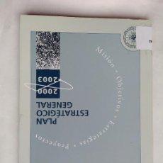 Libros de segunda mano: PLAN ESTRATEGICO GENERAL 2000 - 2003. UNIVERSIDAD NACIONAL DE EDUCACION A DISTANCIA. TDK530. Lote 220985205