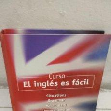 Libros de segunda mano: CURSO EL INGLÉS ES FÁCIL LA VANGUARDIA. Lote 221380203
