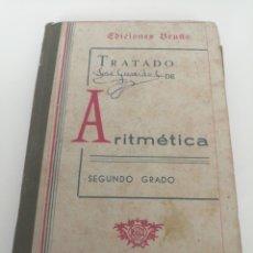 Libros de segunda mano: ARITMÉTICA. SEGUNDO GRADO. CURSO MEDIO. TAPA. Lote 221551578