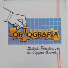 Libros de segunda mano: ORTOGRAFÍA - MÉTODO PRÁCTICO DE LENGUA ESCRITA - JOSÉ PASCUAL MARTÍN - PASCAL (SIN USAR). Lote 221563620