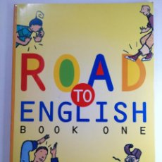 Libros de segunda mano: ROAD TO ENGLISH BOOK ONE - PRIMARIA - EDICIONES SM (NUEVO). Lote 221678583