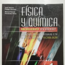 Livres d'occasion: FISICA Y QUIMICA 1 - 1º BACHILLERATO - ED. EVEREST - 2002 - NUEVO. Lote 221746625
