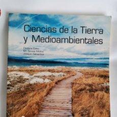 Libros de segunda mano: CIENCIAS DE LA TIERRA Y MEDIOAMBIENTALES CARPETA DE RECURSOS BACHILLERATO CON CD. Lote 221768895