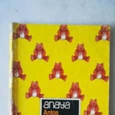 Livres d'occasion: ANAYA 1°EGB,LECTURAS, EQUIPO TROPOS. 1984. Lote 221916347