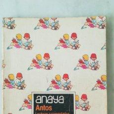 Libros de segunda mano: LIBRO ANAYA 2°EGB EQUIPO TROPOS. 1984. Lote 221925875