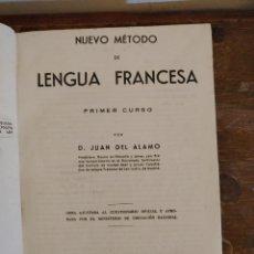 Libros de segunda mano: NUEVO METODO DE LENGUA FRANCESA PRIMER CURSO, ALAMO PYMY 63. Lote 221928305