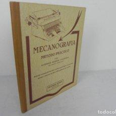 Libros de segunda mano: MECANOGRAFÍA (MÉTODO PRÁCTICO) ALFONSO NIQUEL VILANOVA (27ª EDICIÓN). Lote 221934067