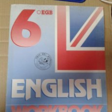 Libros de segunda mano: ENGLISH WORKBOOK. 6º E.G.B. EDITORIAL EDELVIVES.. Lote 222010490