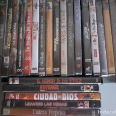 Libros de segunda mano: LOTE 33 PELÍCULAS DVD - MATRIX BAILANDO LOBOS STALINGRADO PERFUME VEGAS MILLION DOLAR. Lote 222014711