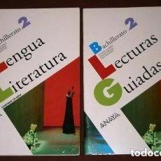 Libros de segunda mano: LENGUA Y LITERATURA 2º BACHILLERATO 2T POR SALVADOR GUTIÉRREZ Y OTROS DE ANAYA, NAVARRA 2009. Lote 222023308
