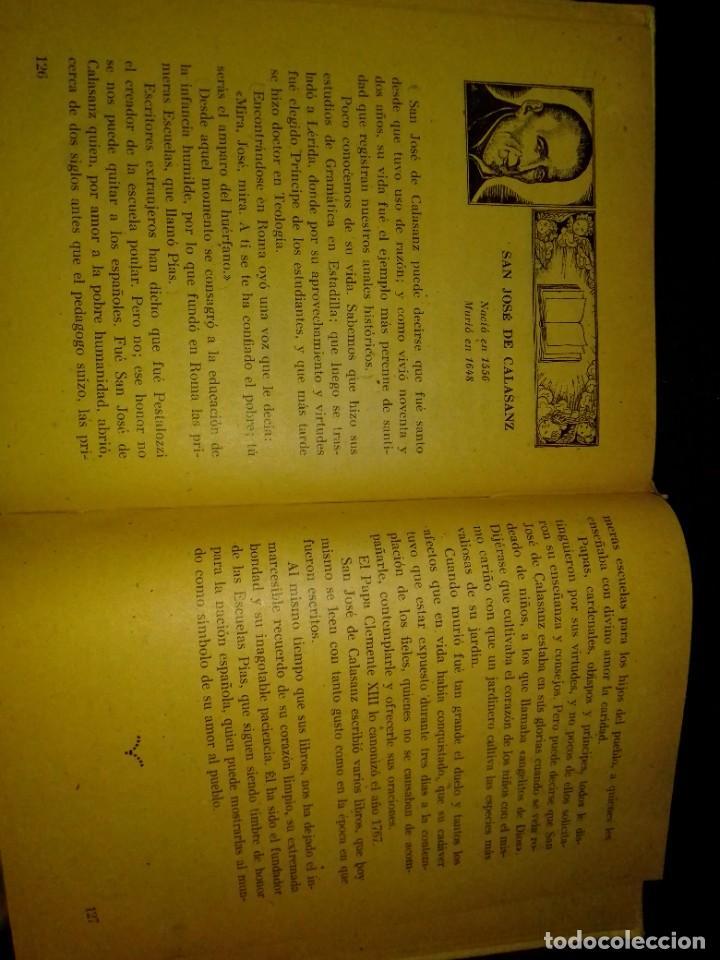 Libros de segunda mano: CIEN FIGURAS ESPAÑOLAS, HIJOS DE SANTIAGO RODRIGUEZ BURGOS 1947 5ª ED - Foto 5 - 222173616