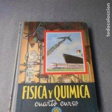 Libros de segunda mano: FISICA Y QUIMICA. 4º CURSO. Lote 222271050