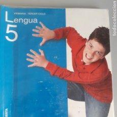 Libros de segunda mano: LENGUA 5º PRIMARIA. ED. ANAYA. Lote 222907853
