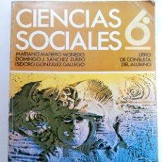 Livros em segunda mão: CIENCIAS SOCIALES 6º LIBRO DE CONSULTA DEL ALUMNO - ANAYA (SIN USAR). Lote 223580348