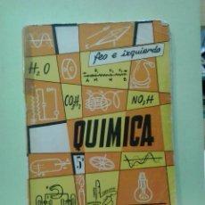 Libri di seconda mano: LMV - QUÍMICA 5º CURSO. ROBERTO FEO GARCIA. Lote 224159331