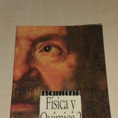 Libros de segunda mano: LIBRO DE FÍSICA Y QUÍMICA 2 BACHILLERATO. EDITORIAL ANAYA. Lote 225078265