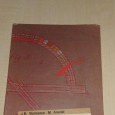 Libros de segunda mano: LIBRO DE MATEMATICAS. ALGORITMO 1 . 1 DE BUP. Lote 225078615