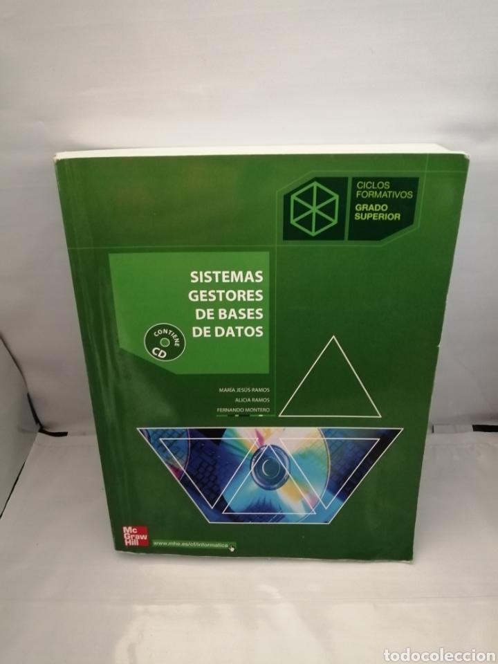 Sistemas Gestores De Bases De Datos Ciclos For Comprar Libros De Texto En Todocoleccion 226476365