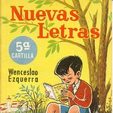 Libros de segunda mano: NUEVAS LETRAS - 5ª CARTILLA. Lote 226908120