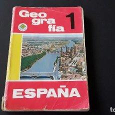 Libros de segunda mano: ANTIGUO LIBRO GEOGRAFÍA, 1968. Lote 227632470