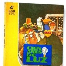 Libros de segunda mano: MUNDO NUEVO 4º EGB / LIBRO DE LECTURA / EDITORIAL ANAYA EN MADRID 1981. Lote 227769515