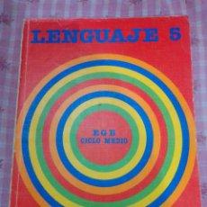 Libros de segunda mano: EGB LENGUAJE 5 SANTILLANA. Lote 227774225