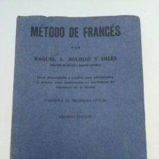 Libros de segunda mano: LIBRO MÉTODO DE FRANCÉS 1943. Lote 227775811