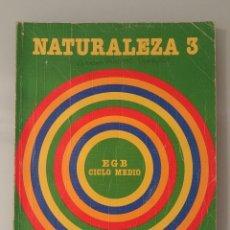 Libros de segunda mano: NATURALEZA 3 SANTILLANA EGB CICLO MEDIO 3º EGB. Lote 227782304
