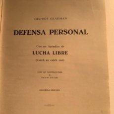 Libros de segunda mano: DEFENSA PERSONAL DE GEORGE GLADMAN (CAJ, 2) LIBRO. Lote 228459395