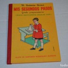 Libros de segunda mano: ORIGINAL / MIS SEGUNDOS PASOS / HIJOS DE SANTIAGO RODRÍGUEZ BURGOS ¡ESTADO EXCELENTE, NOS!. Lote 230180985