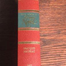 Libros de segunda mano: OBRAS SELECTAS PREMIOS NOBEL (NUEVO) FRANÇOIS MAURIAC 1952. Lote 230571870