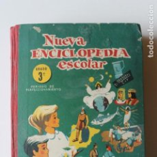 Livros em segunda mão: NUEVA ENCICLOPEDIA ESCOLAR 3º GRADO, SANTIAGO RODRIGUEZ, BURGOS 1960. Lote 231302150