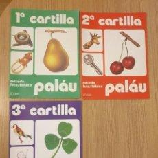 Libros de segunda mano: METODO FOTOSILABICO PALAU - 1ª, 2ª Y 3ª CARTILLA PRIMERA, SEGUNDA, TERCERA 1, 2 Y 3 - ANAYA - NUEVO. Lote 232085120
