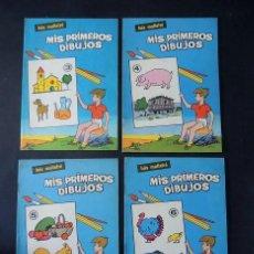 Libros de segunda mano: MIS PRIMEROS DIBUJOS ( CUADERNOS Nº 3-4-5-6 ) LUIS MALLAFRÉ / EDITORIAL ROMA AÑOS 1962 / SIN USAR. Lote 232982440