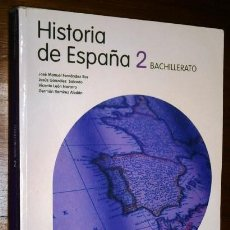 Livros em segunda mão: HISTORIA DE ESPAÑA 2º BACHILLERATO / JOSÉ M. FERNÁNDEZ ROS Y OTROS / ED. SANTILLANA MADRID 2009. Lote 233018560