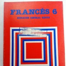 Libros de segunda mano: FRANCÉS 6 EDUCACIÓN GENERAL BÁSICA - SANTILLANA (SIN USAR, DE DISTRIBUIDORA). Lote 233129455