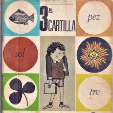 Libros de segunda mano: TERCERA CARTILLA PALAU - METODO FOTOSILABICO - ANAYA 1968. Lote 234690300