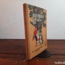 Libros de segunda mano: LECTURA DE CHICOS - LECTURAS GRADUADAS H.S.R., PRIMER LIBRO - HIJOS DE S. RODRIGUEZ, 1953, 2ª ED.. Lote 234770225