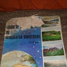 Libros de segunda mano: VIEJO LIBRO, GEOGRAFÍA UNIVERSAL, SESTO CURSO, ANAYA 1966. Lote 235273665