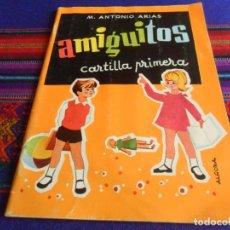 Libros de segunda mano: AMIGUITOS CARTILLA PRIMERA 87ª EDICIÓN 1978. EDITORIAL SANTIAGO RODRÍGUEZ S.A. BUEN ESTADO.. Lote 235616930