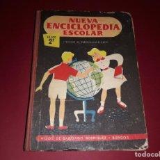 Libros de segunda mano: NUEVA ENCICLOPEDIA ESCOLAR 2ª GRADO HIJOS DE SANTIAGO RODRIGUEZ BURGOS. Lote 236216395
