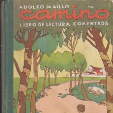 Libros de segunda mano: LIBRO DE ESCUELA CAMINO LIBRO DE LECTURA COMENTADA EDITORIAL MIGUEL A SALVATELLA. Lote 236318380