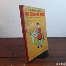 Libros de segunda mano: MIS SEGUNDOS PASOS, GRADO PREPARATORIO - M. ANTONIO ARIAS - HIJOS DE SANTIAGO RODRIGUEZ, 1955, 7ª ED. Lote 236657210