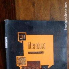 Libros de segunda mano: LITERATUTRA LENGUA CASTELLANA Y LITERATURA ESO 1 EDELVIVES. Lote 236915540