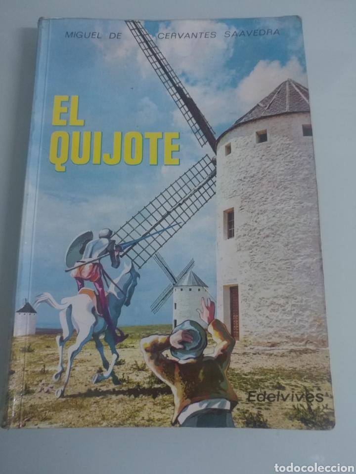 EL QUIJOTE. EDELVIVES (Libros de Segunda Mano - Libros de Texto )