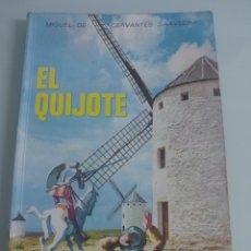 Libros de segunda mano: EL QUIJOTE. EDELVIVES. Lote 236994960