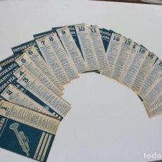 Libros de segunda mano: COLECCIÓN COMPLETA ORTOGRAFÍA SANTILLANA (1983). 20 CUADERNOS ORTOGRAFÍA.. Lote 238028645