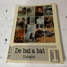 Libros de segunda mano: DE BAT A BAT LLENGUA ALCOY 1992 JOSEP MARTINEZ JOSEP ESCOLANO IVORI LLIBRES 236 PAGINAS. Lote 241527295