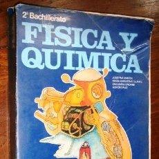 Libros de segunda mano: FÍSICA Y QUÍMICA 2º BUP POR Mª ANGUSTIAS OLARTE Y OTRAS DE ED. MAGISTERIO ESPAÑOL EN MADRID 1976. Lote 241547450