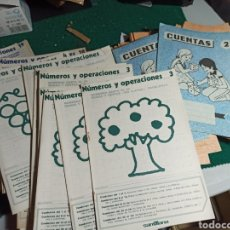 Libros de segunda mano: LOTE DE MÁS DE 80 CUADERNILLOS DE CUENTAS Y NÚMEROS . VER FOTOS. Lote 242131085
